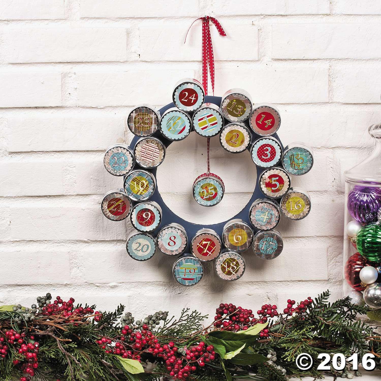 DIY Advent Wreath Idea