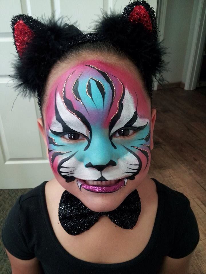 katy lee girres tiger for halloween love the eyes - Tiger For Halloween