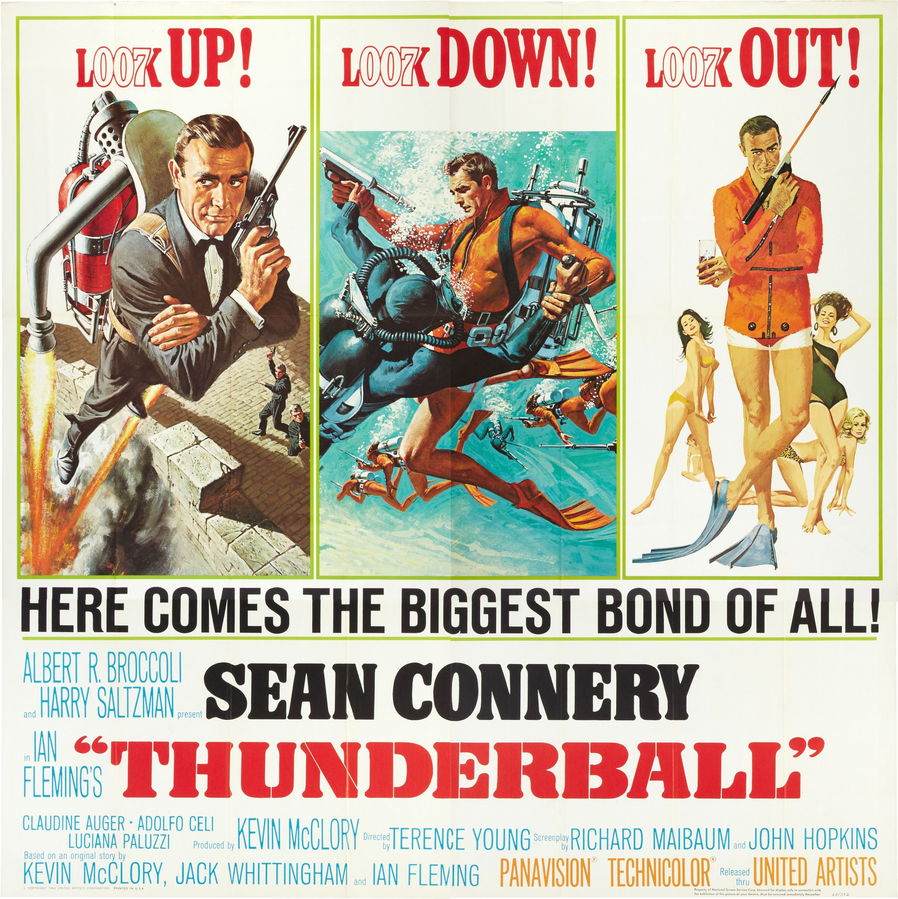 thunderball sean connery james bond 007 movie 007