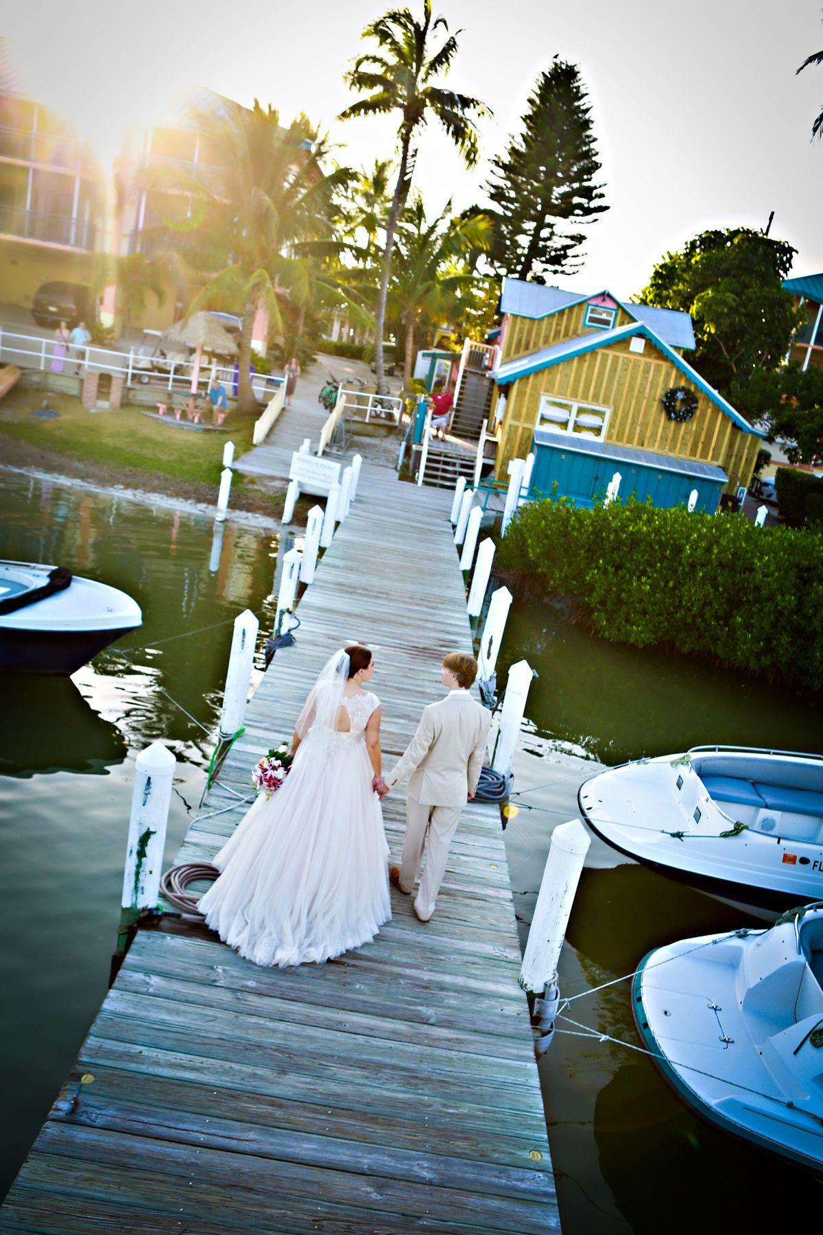 A beautiful marina wedding at 'Tween Waters Inn Island