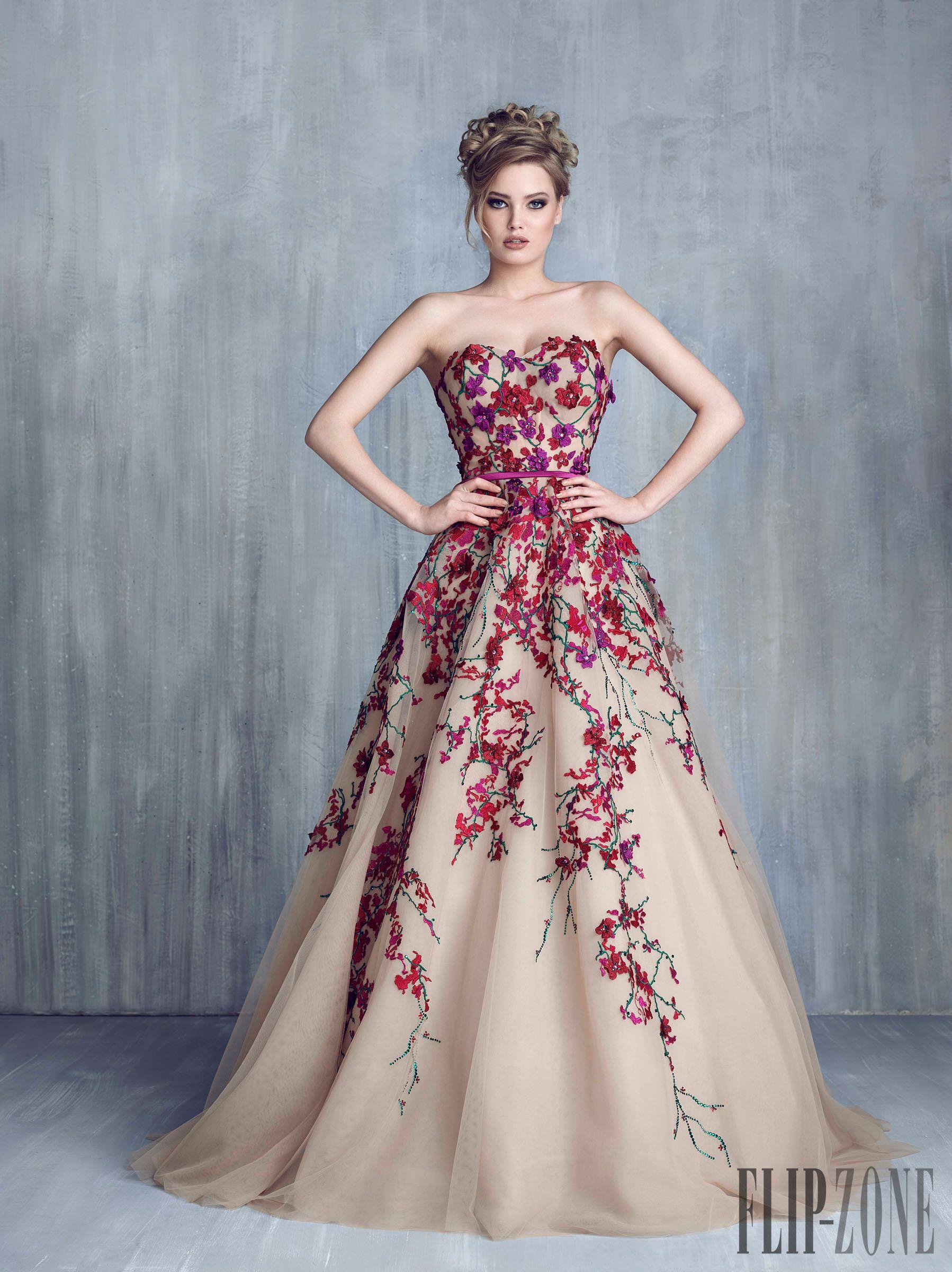 Spring evening dress pinterest