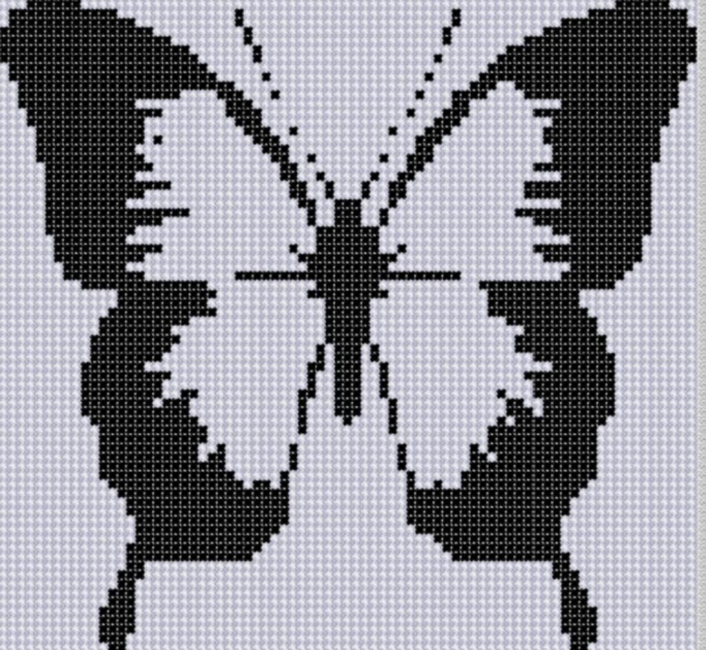 Butterfly cross stitch pattern cross stitch butterfly and stitch