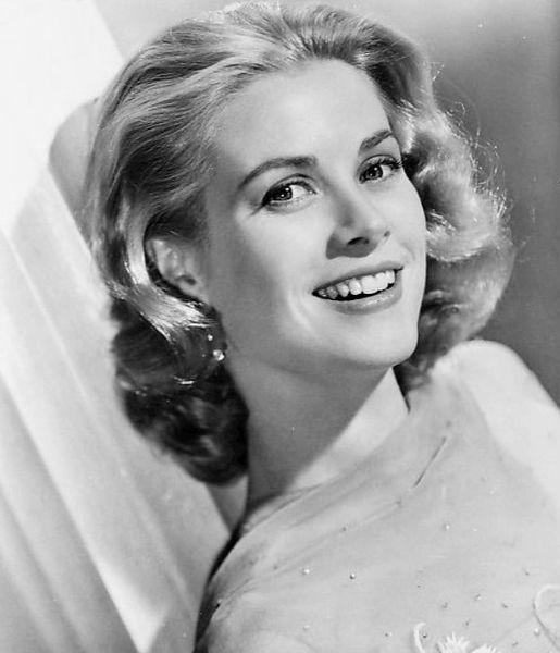 Grace Kelly nel film High Society,   1956. L'ultimo film dell'attrice prima di diventare Principessa.