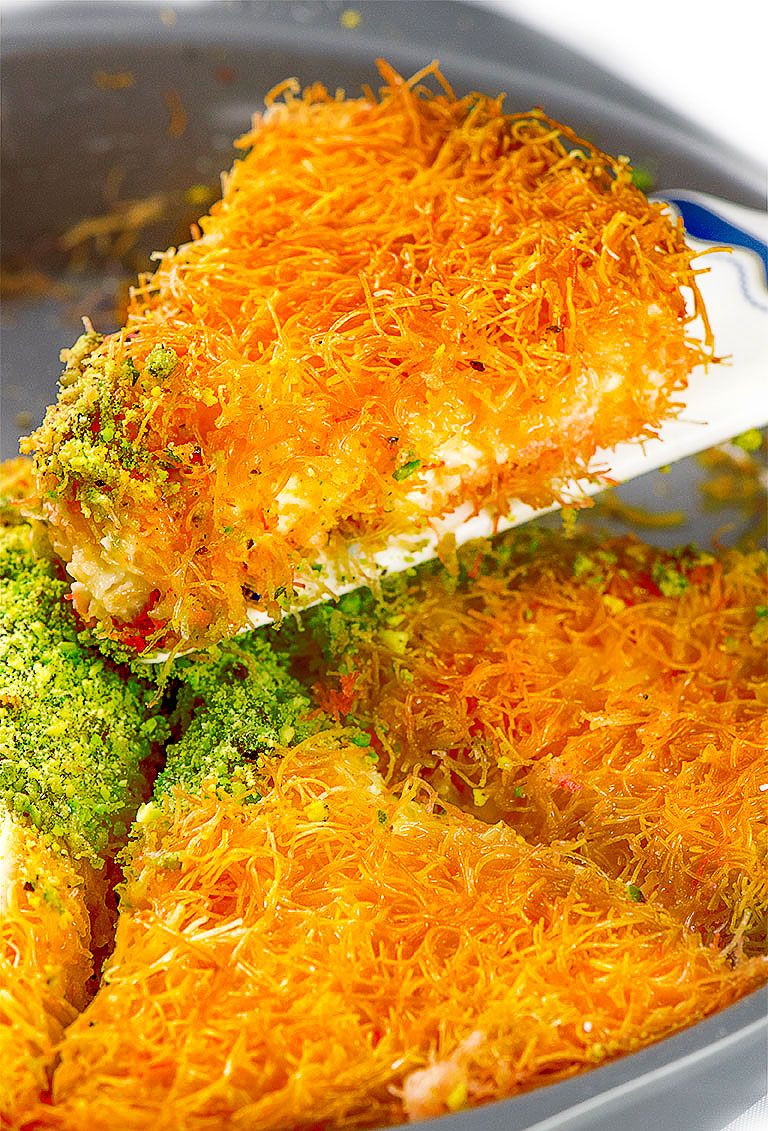 Best Kunafa Recipe From Scrath Chefjar Recipe Kunafa Recipe Recipes Peanut Butter Balls Recipe
