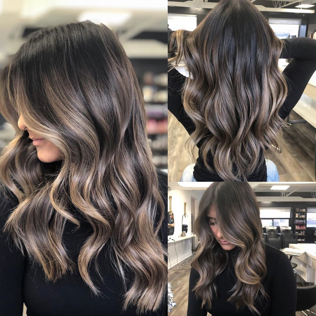 """BRUNETTE SPECIALIST SHARON on Instagram: """"All angles! Enhanced brunette � Colour @yogacolourist For bookings and enquiries: ️:(905)990-8777 ________________________________________…"""""""