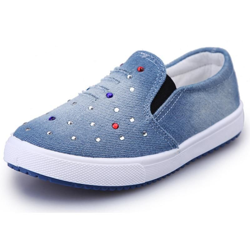 Girls Shoes Children Canvas Casual Shoes Sneakers Fashion Light