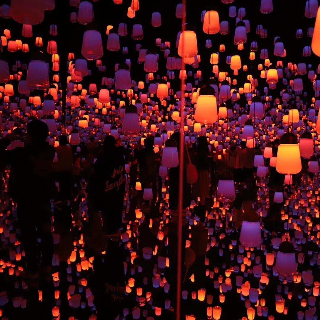 Forest Of Lamp Teamlab Art Nofilter Tokyo Lamp Picture Forest Of Lamp Teamlab Art Nofilter Tokyo Lamp Picture Pictures Art Forest
