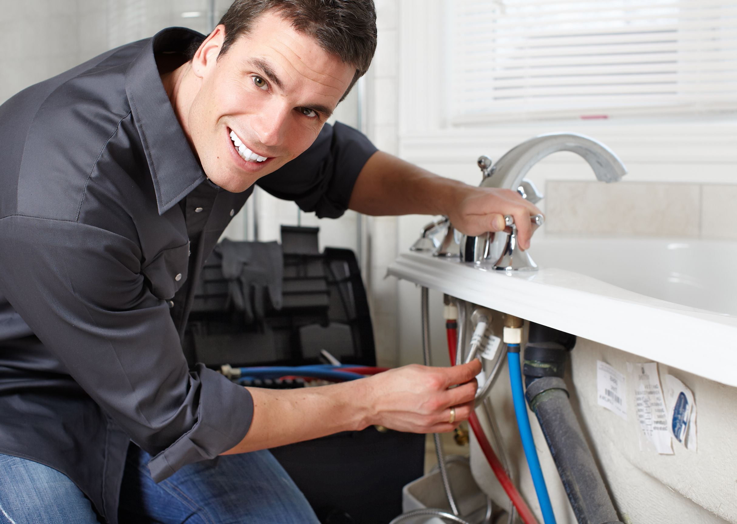 The plumbing services of Heiden include routine