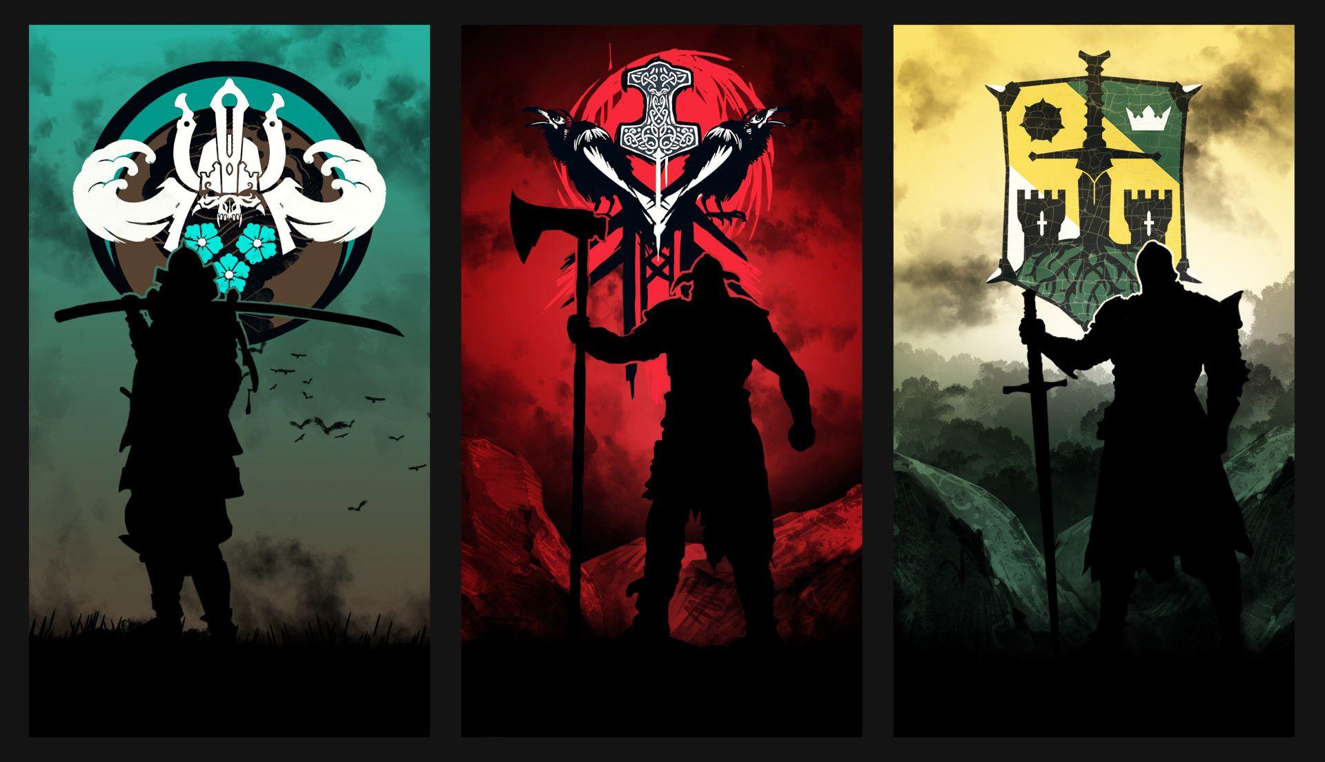 Resultado De Imagen Para For Honor Posters Simbolos Legais Vikings Rpg