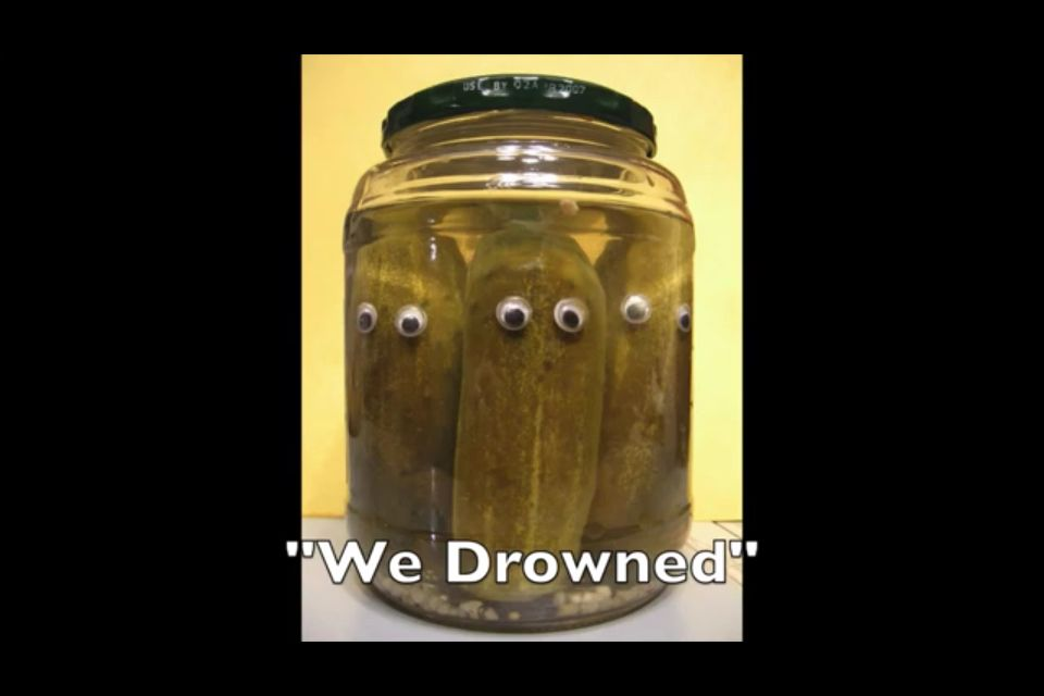 2/2 What Jenna marbles calls pickles