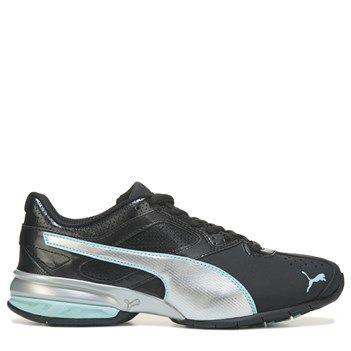 69b25c821fb Puma Women s Tazon 6 Soft Foam Running Shoes (Black  Blue)