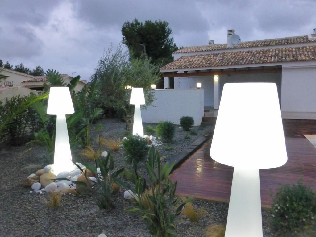 Dei particolarissimi lampioncini led per illuminare i tuoi esterni