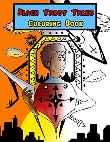 Black Tarot Tales Coloring Book By Carlos Gee Amazon