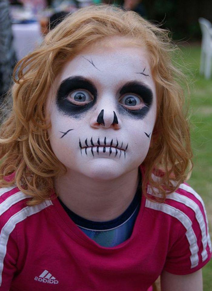 ▷ 1001 + idées créatives pour maquillage pour enfants #deguisementfantomeenfant