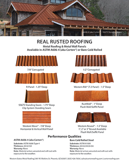 Corten Roofing Panels Card Industrial House Roofing Corrugated Metal Roof