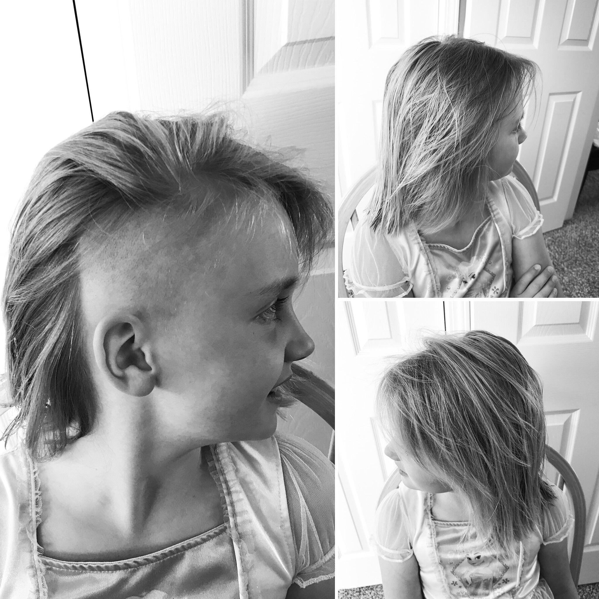 Undercut Hair Haircut Girls Hairstyle Diy Kitchen Beautician Summer Hair 2017 Try It Cool Kid Hair Cool Ha Girls Shaved Hairstyles Girl Haircuts Diy Hairstyles