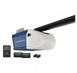 Chamberlain Pd512 1 2hp Chain Garage Opener With 2 Remotes Garage Door Opener Garage Doors Chain Drive