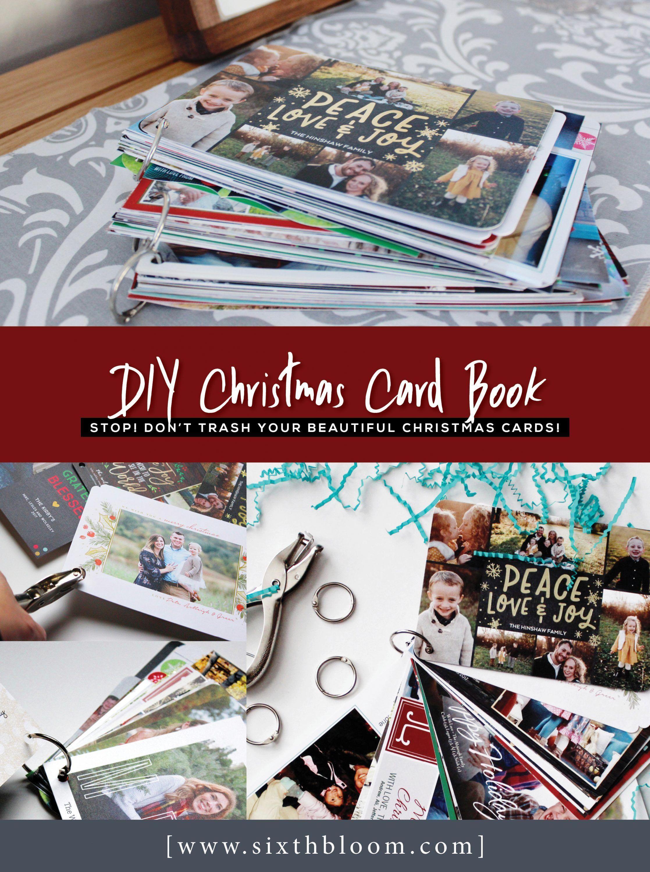 Diy Christmas Card Book Sixth Bloom Christmas Card Book Diy Picture Books Diy Christmas Cards