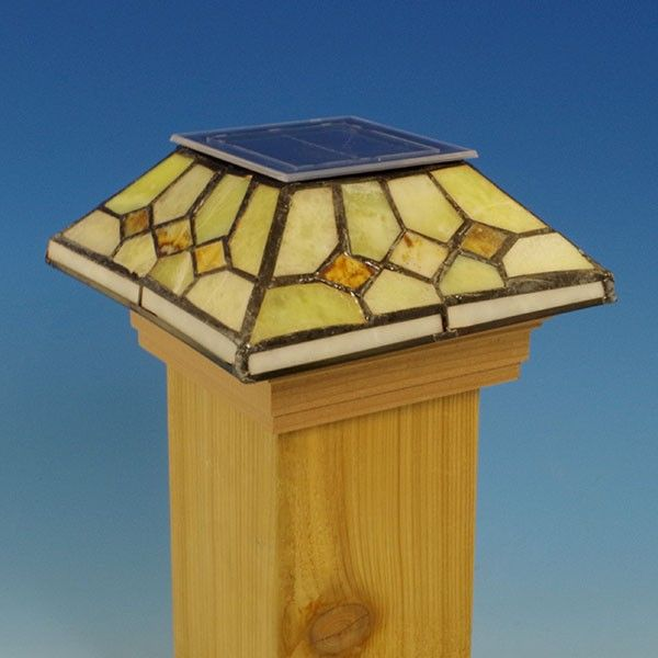 Mission Solar Candle Lanterns Outdoor