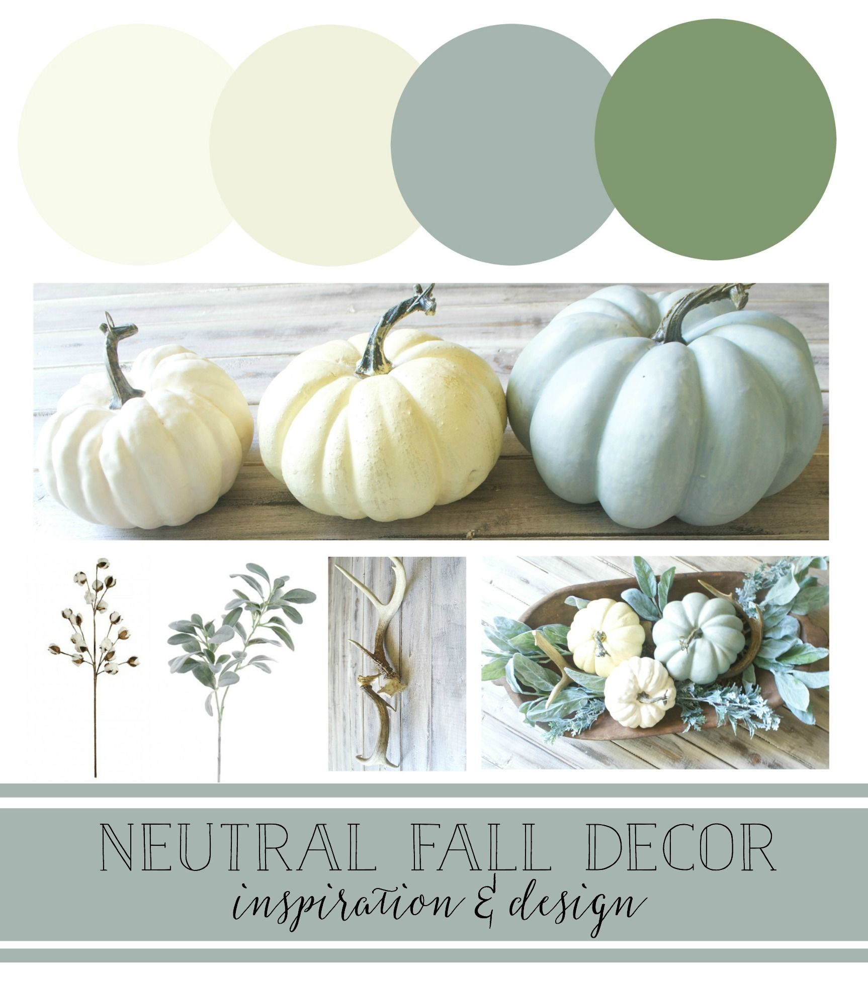 Photo of Plum Pretty Decor & Design Co.Neutrale Herbstdekorpläne – Inspiration & Design –