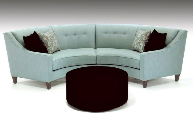 Small Curved Sectional Sofa Foter Sofas For Small Spaces
