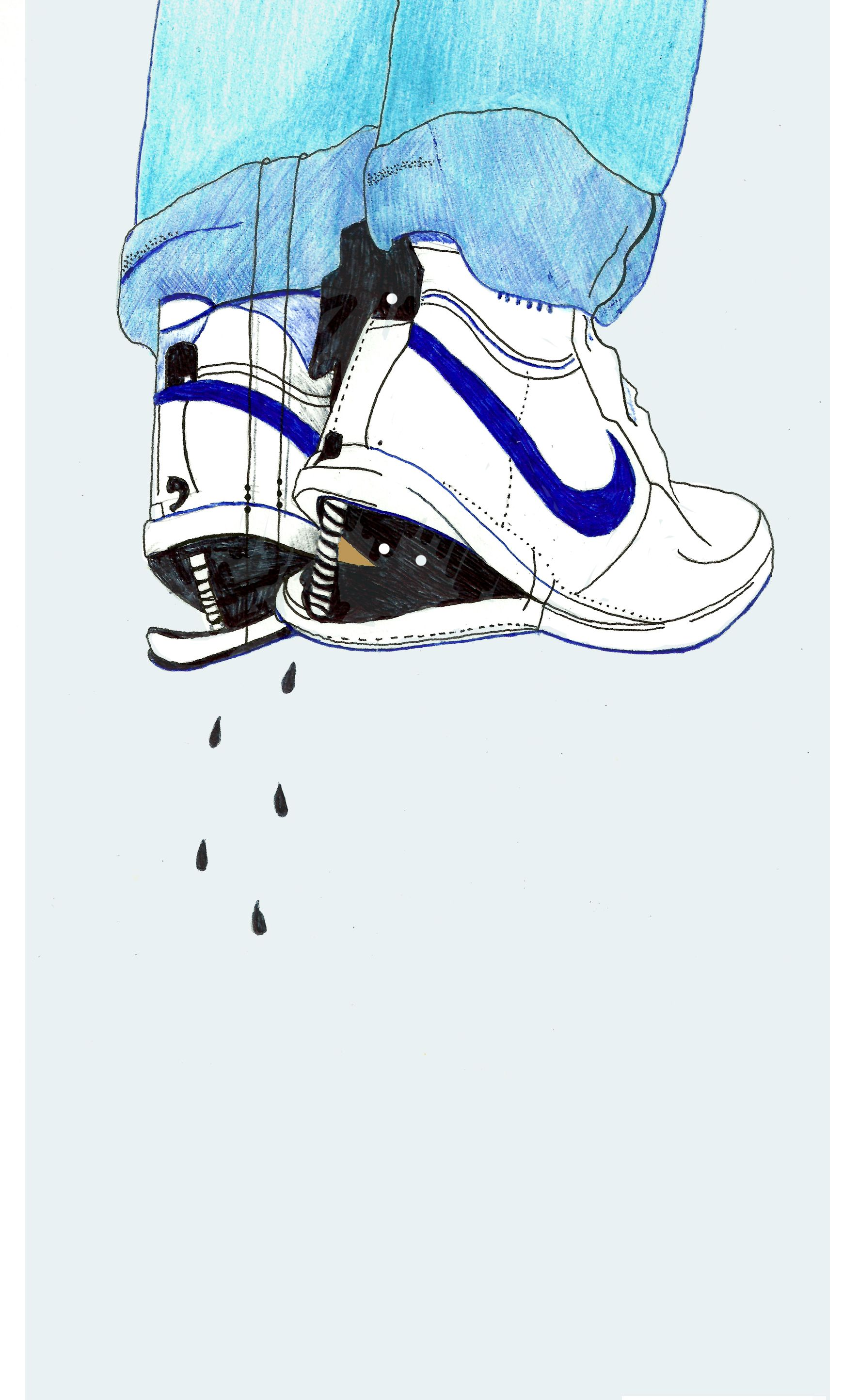 Slick Shoes Illustration From The Movie The Goonies