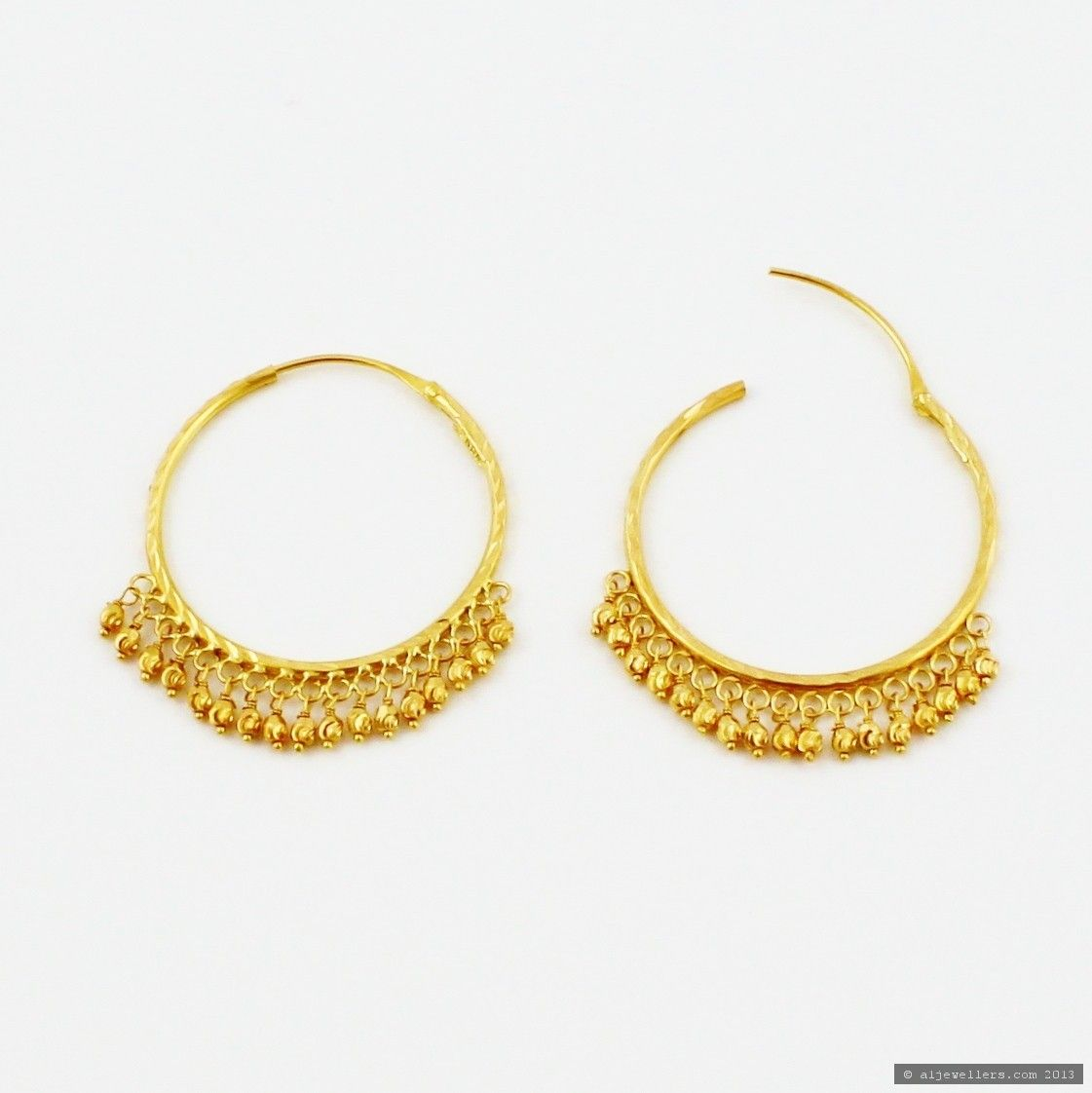 Indian Gold Earrings  Google Search