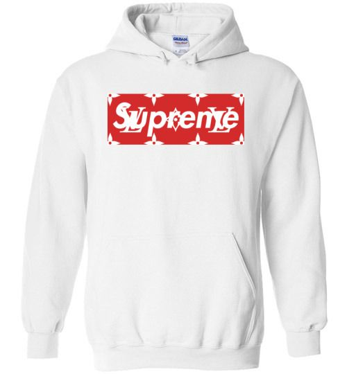 awesome Supreme Louis Vuitton Logo Unisex hoodie