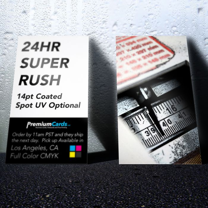 24hr Rush Business Cards Printing Business Cards Premium Business Cards Printed Cards