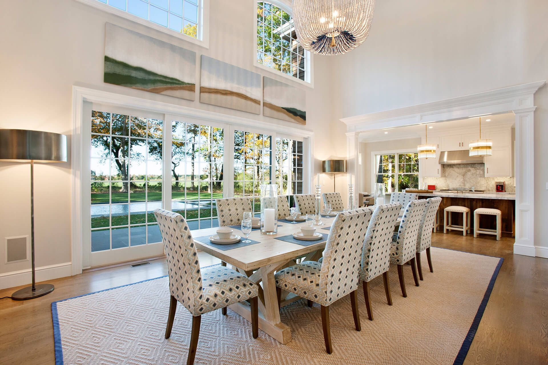Image Result For Double Height Dining Room