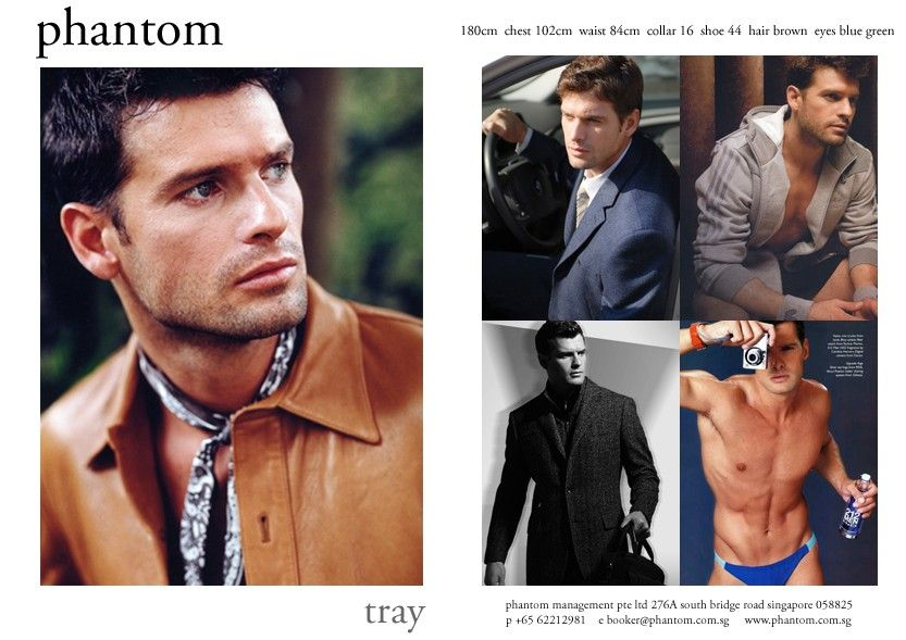 Male Comp Card Samples