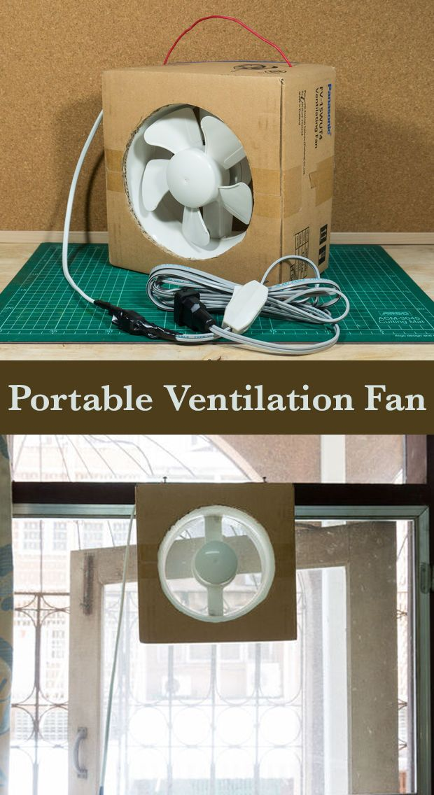Portable Ventilation Fan From Its Box!!! | Easy ...