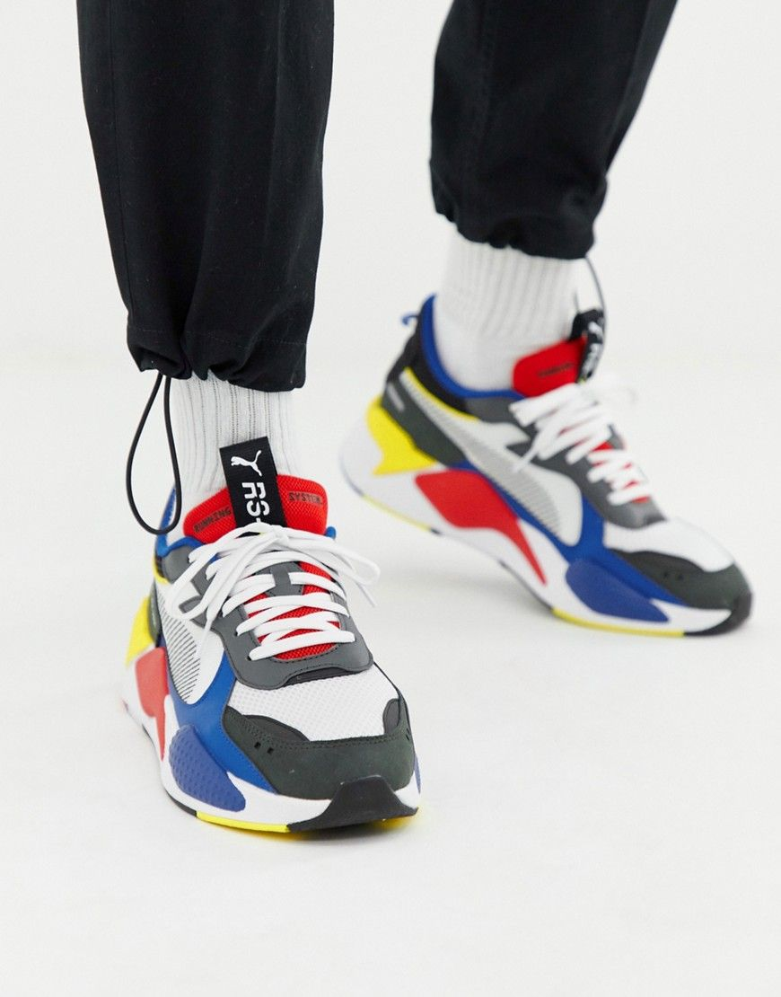 wholesale dealer ce184 cc074 PUMA RS-X TOYS SNEAKERS IN WHITE - WHITE.  puma  shoes