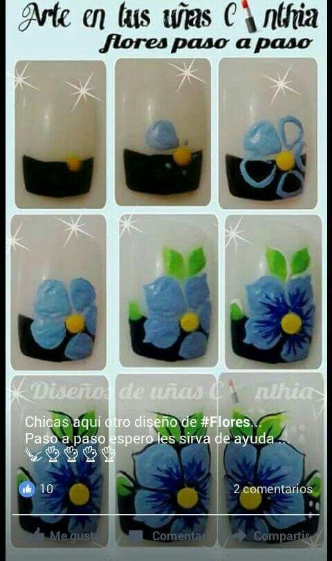 Pin de Cristina en Mis cosas | Pinterest | Arte en tus uñas, Diseños ...