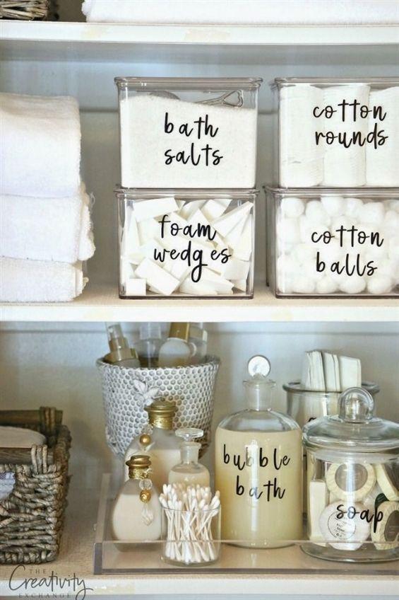 Photo of Die 11 besten Ideen für die Organisation von Badezimmern – Blueberry.bonheurfitness.com
