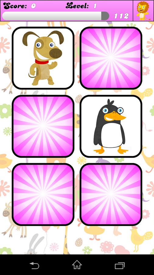 Kids Memory Game Animals Juegos De Memoria Escuela Digital Niños