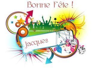 Bonne fête Jacques - L'univers de Patounette et ses amis(es ...