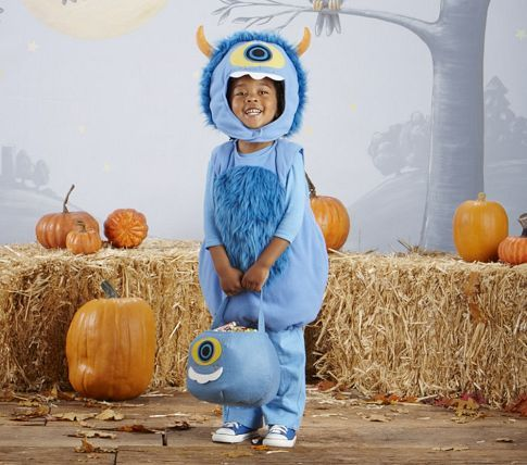 Need ideas for one-eyed monster costume.  Ethan wants to be anything one-eyed.  This one's too young for him though.