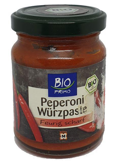 Müller Drogeriemarkt - BIO Primo Peperoni Würzpaste in