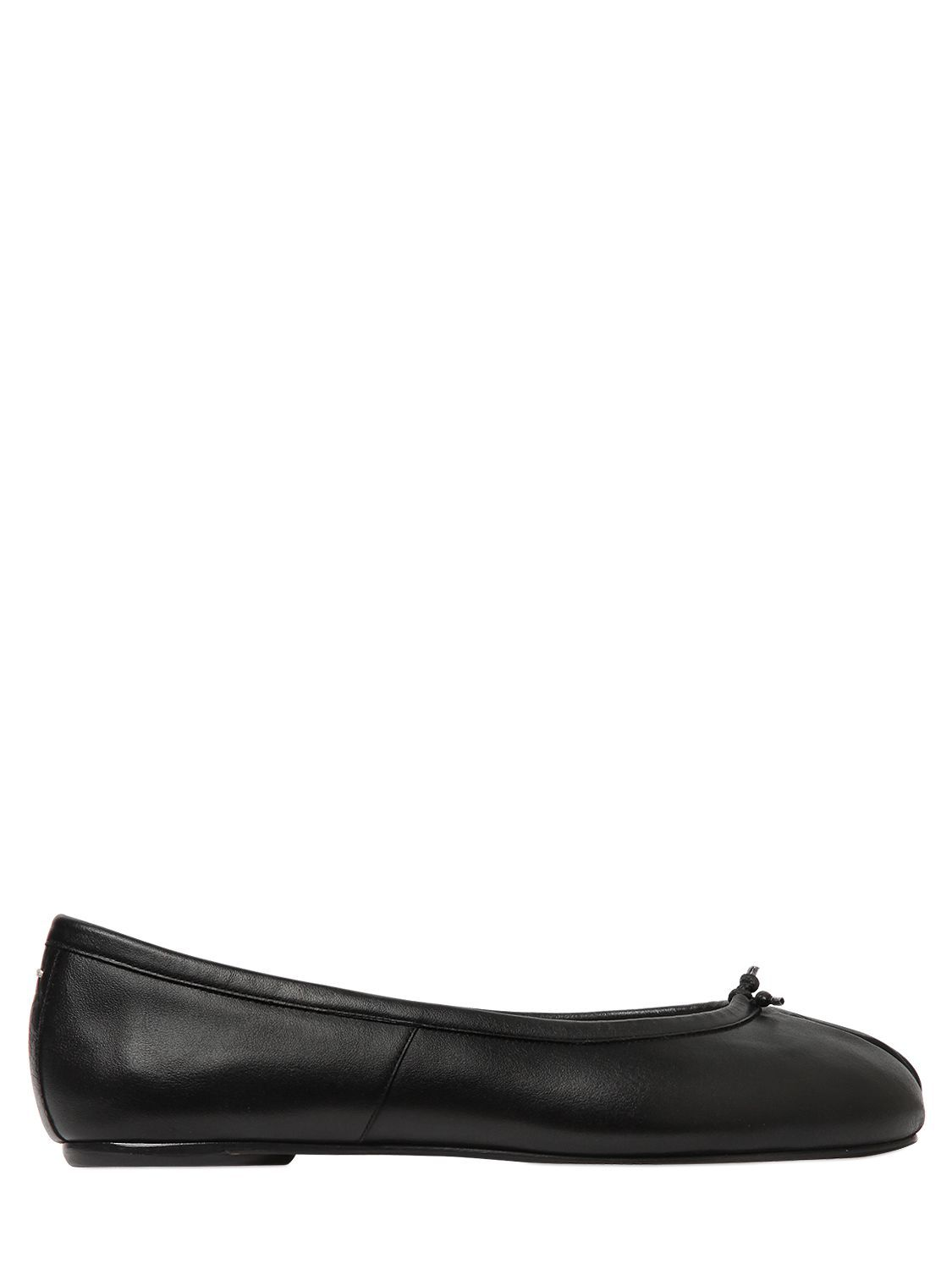 Womens Tabi Leather Ankle-Strap Flats Maison Martin Margiela