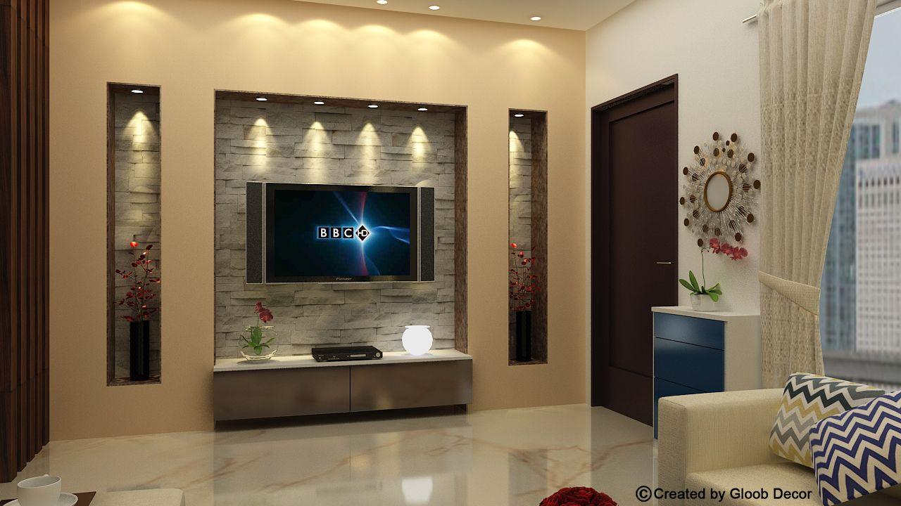 Living room   Living room design modern, Tv wall design, Ceiling ...