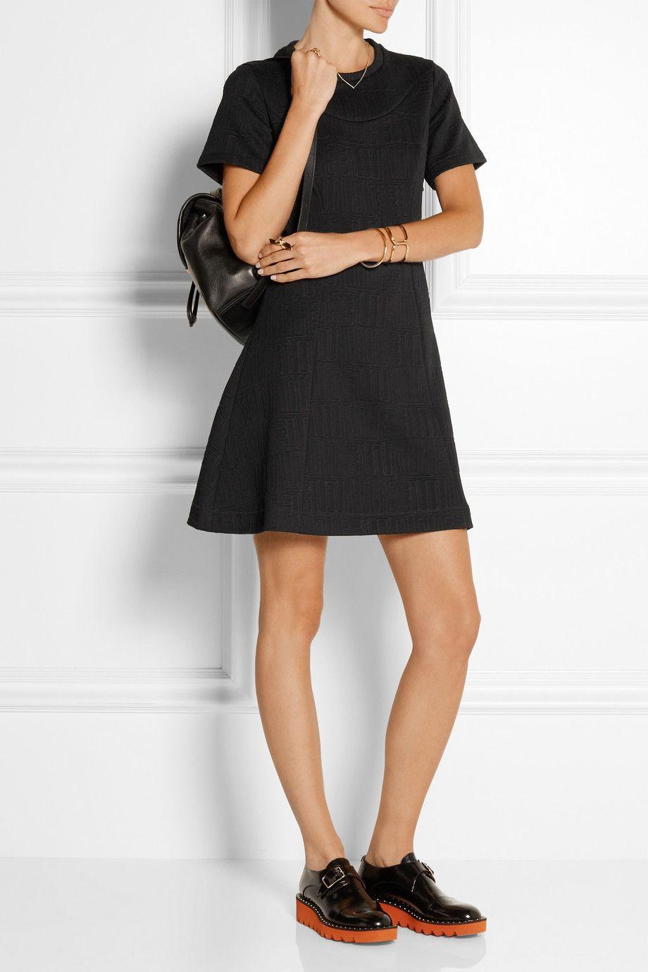 KENZO - Stretch-jacquard mini dress. Leather LoafersLeather BackpacksMarc  JacobsMini ...