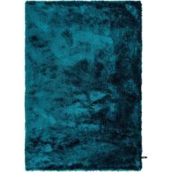 Photo of benuta Essentials Hochflor Shaggyteppich Whisper Türkis 160×230 cm – Langflor Teppich für Wohnzimmer