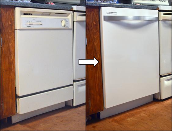 white and chrome dishwasher - google search | kitchen remodel idea