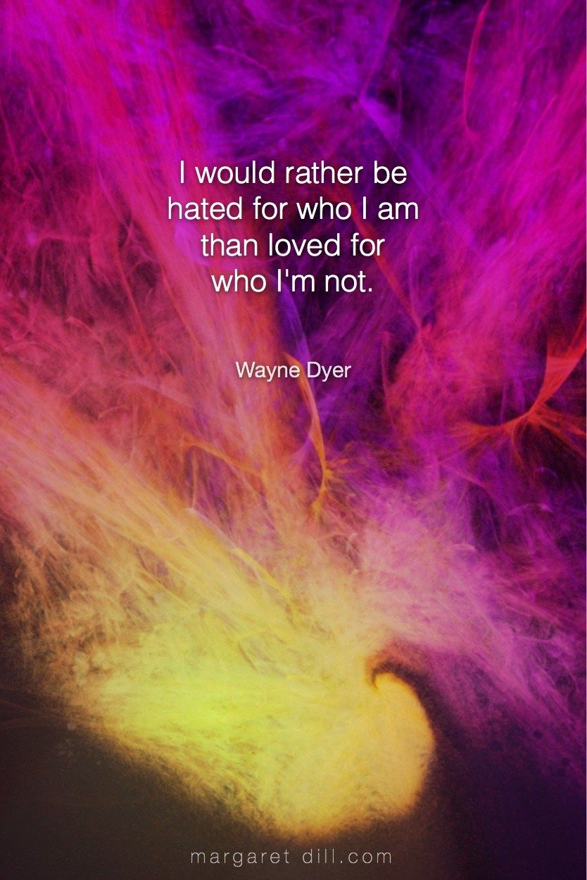 I would... Wayne DyerQuote - blogger of inspirational quotes & design for dreamers store