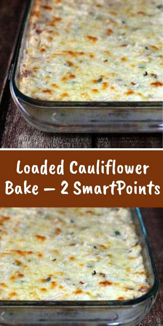 Loaded+Cauliflower+Bake+–+2+SmartPoints #loadedcauliflowerbake