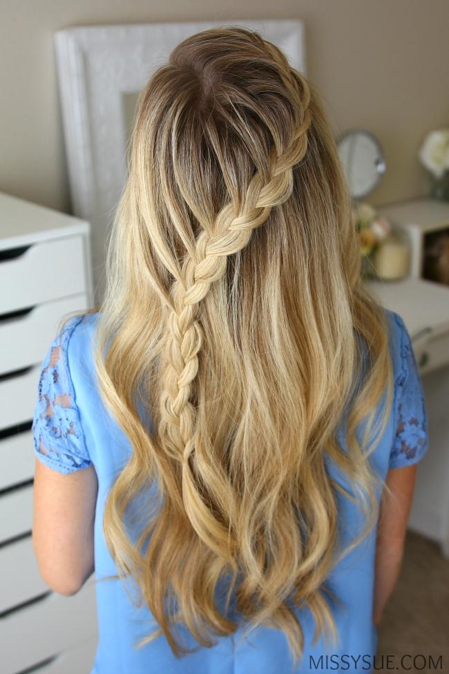 3 fall hairstyles peinados
