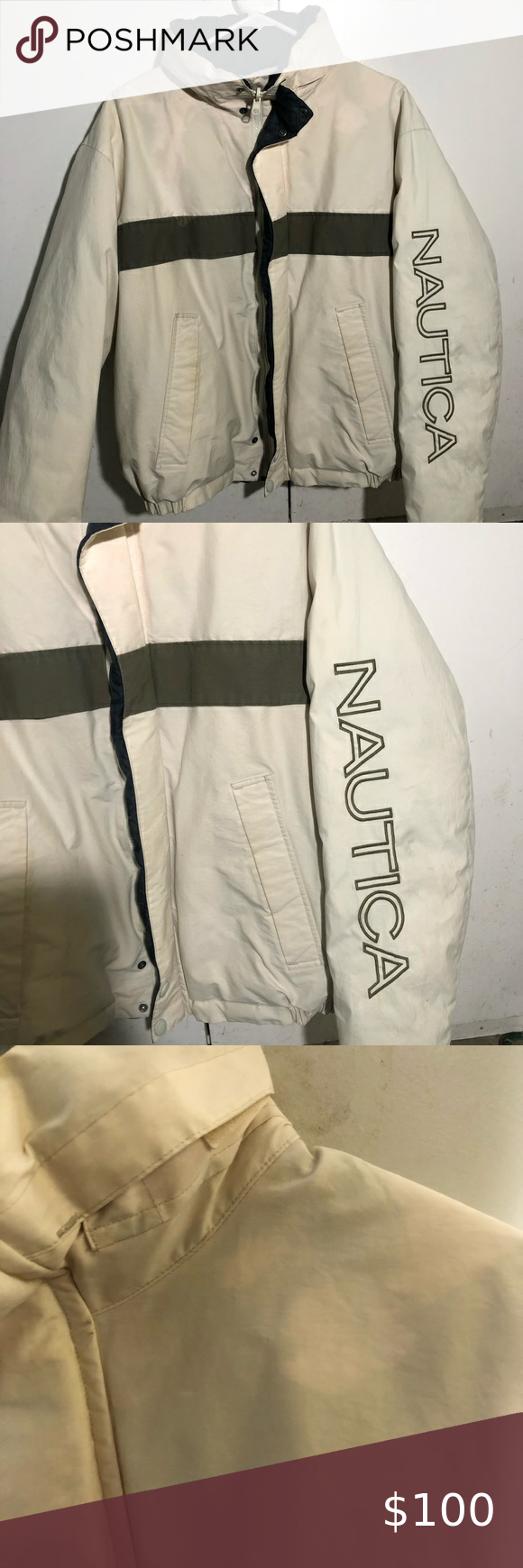Vintage Reversible Nautica Winter Puffer Jacket Winter Puffer Jackets Jackets Puffer Jackets [ 1740 x 580 Pixel ]