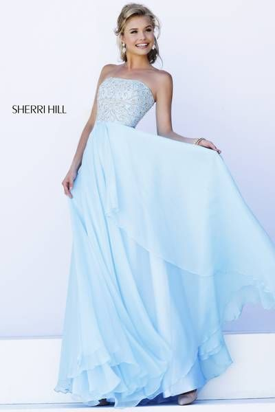 de03879f70 Sherri HIll  8554 I love this Cinderella blue Sherri Hill Dress ...