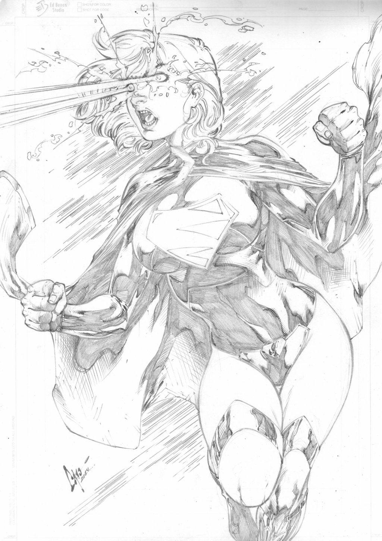 Supergirl by on DeviantArt